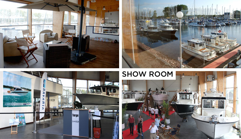 Show room SNIP Yachting